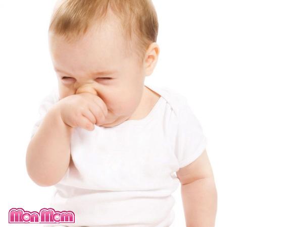 Chăm sóc trẻ bị nghẹt mũi